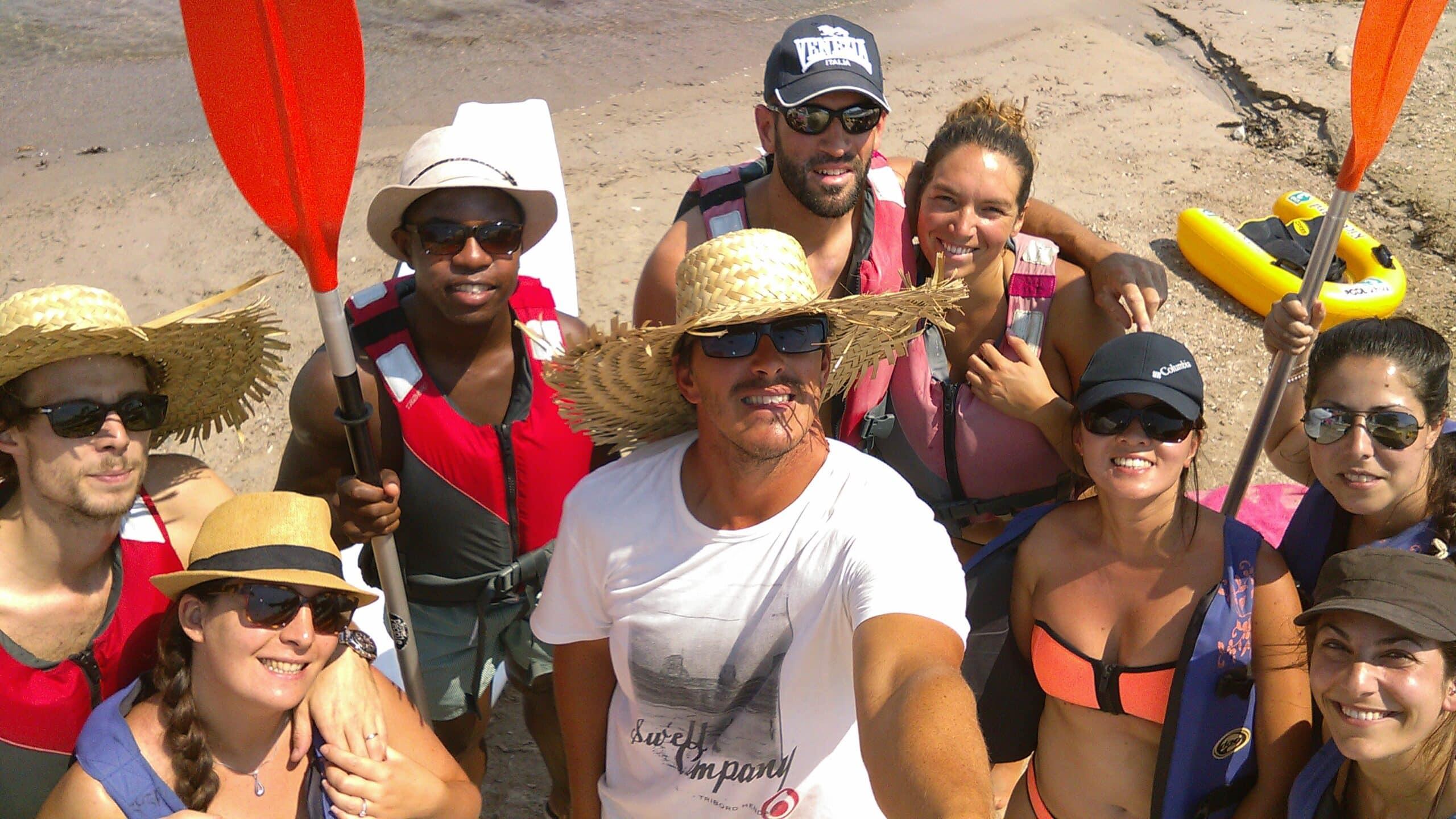Destination kayak Cap d'antibes