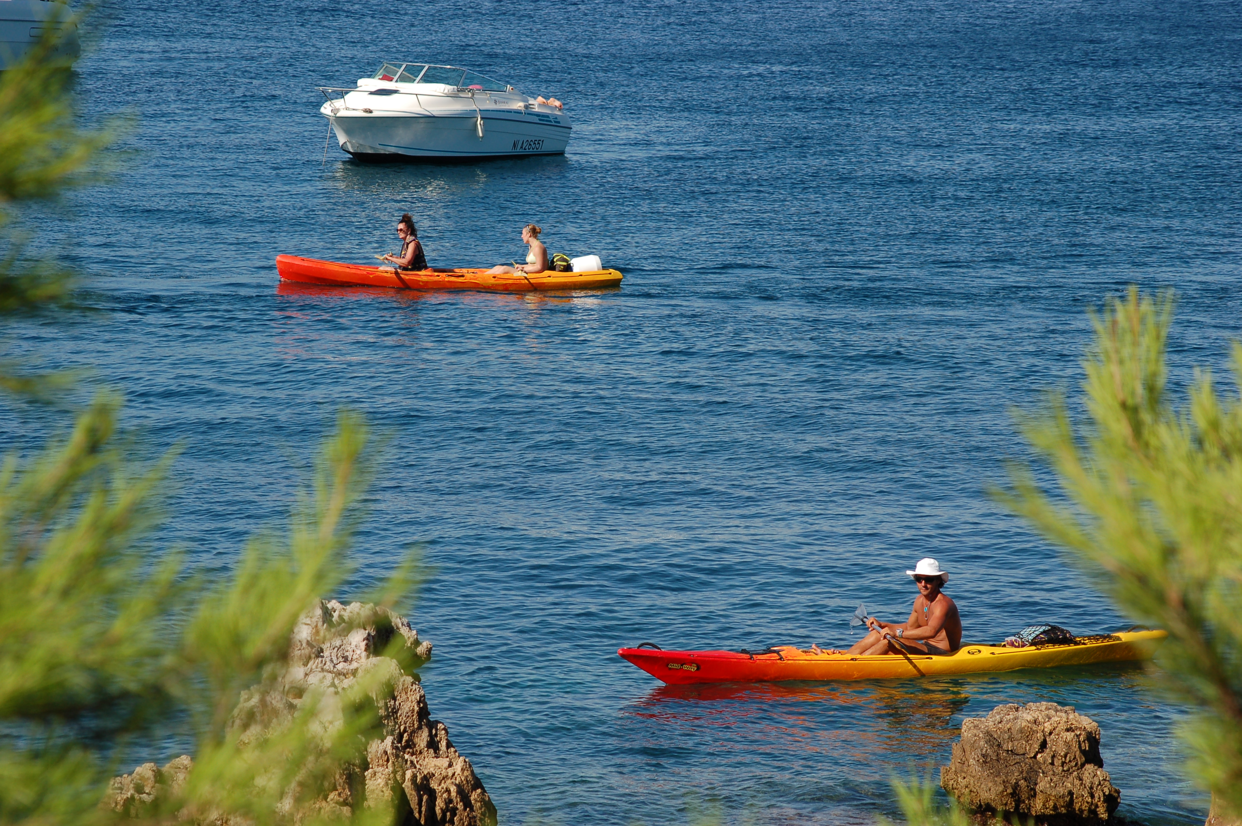 Destination Kayak Lerins