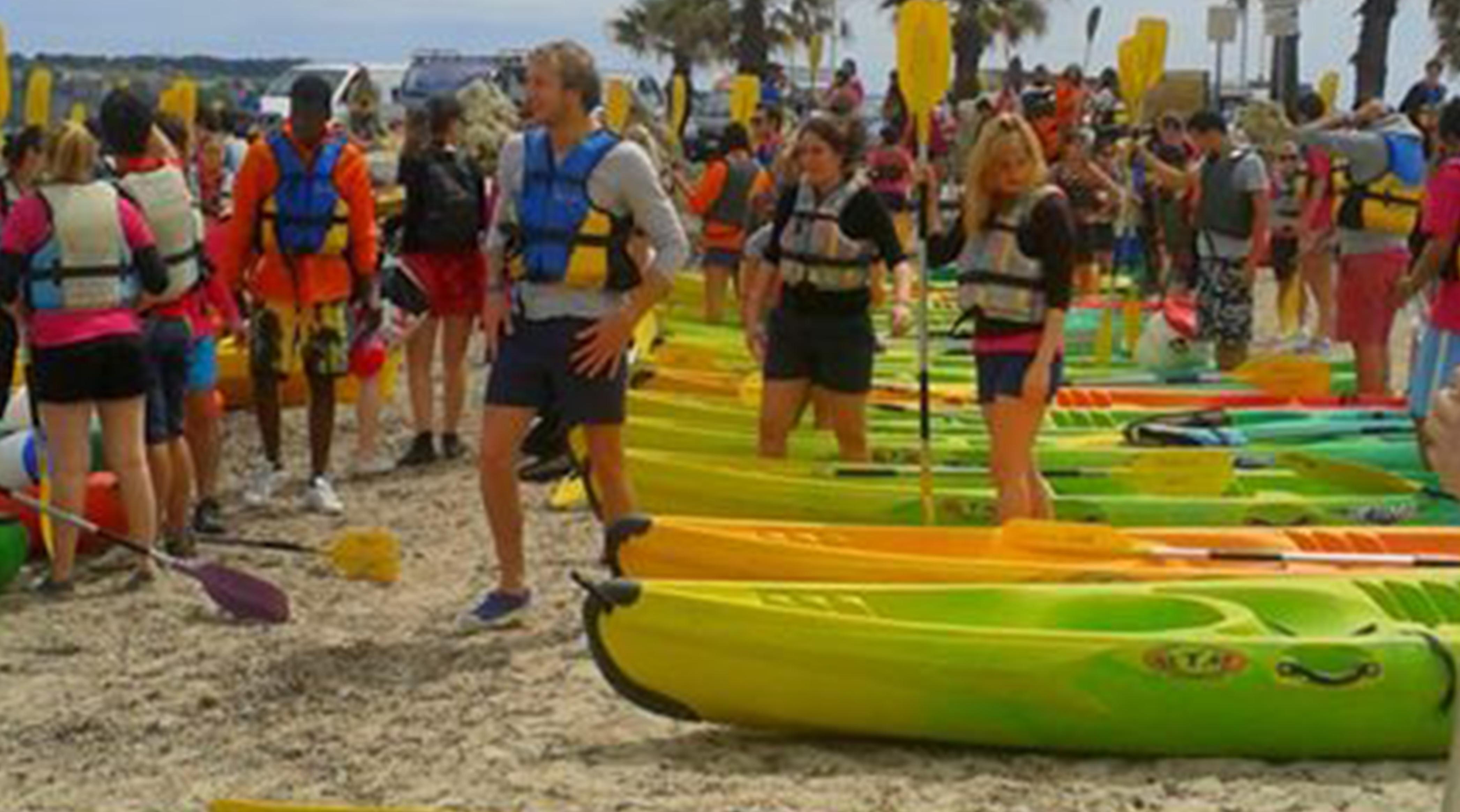 Evénementiel nautique Location de kayak