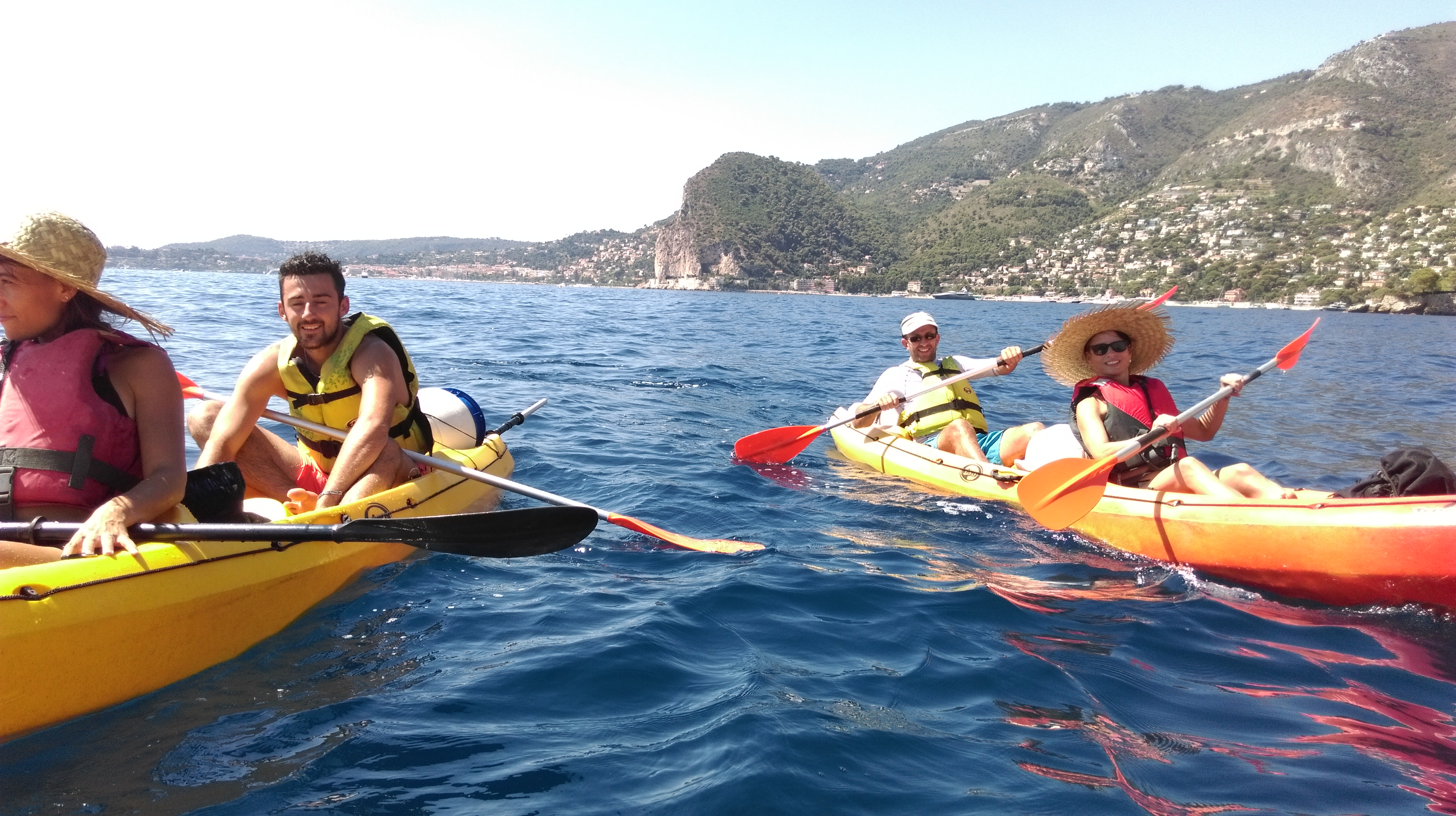 Destination Kayak Beaulieu sur mer